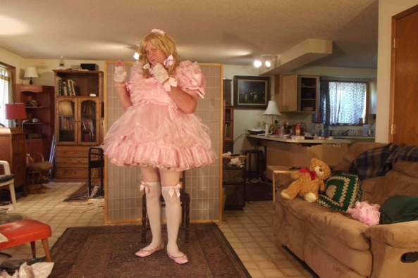 Another Pink look, sissy,crossdress, Feminization,Dolled Up,Sissy Fashion