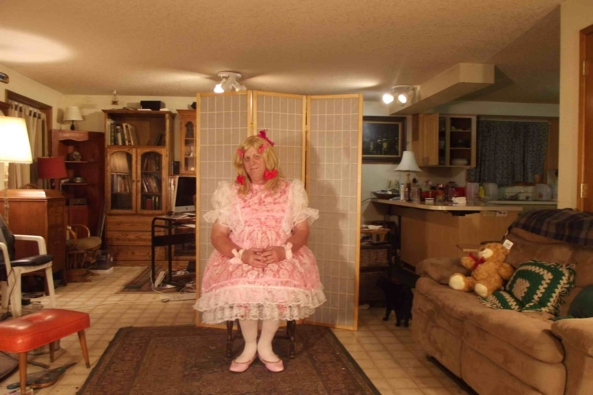 A Medley  - of my dresses..., sissy crossdress,, Feminization,Holiday,Dolled Up,Sissy Fashion