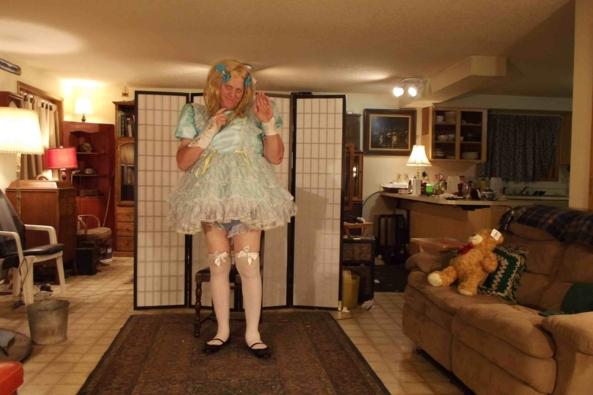 Blue Boy?, sissy,crossdress, Feminization,Dolled Up,Sissy Fashion