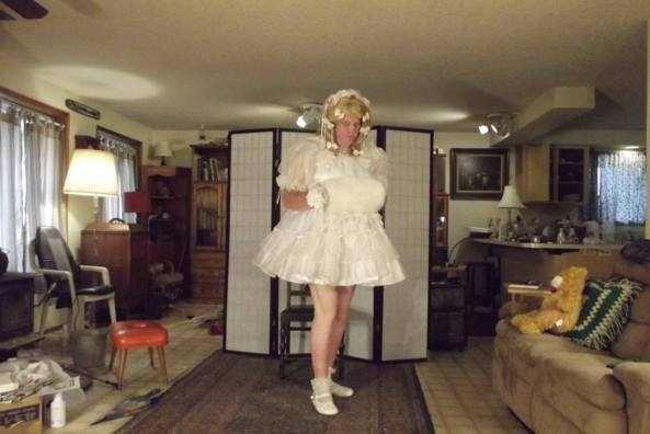 A Montage of Prissy Dresses -  A Selection from my Wardrobe, sissy,cross,dress,, Feminization,Dolled Up,Sissy Fashion