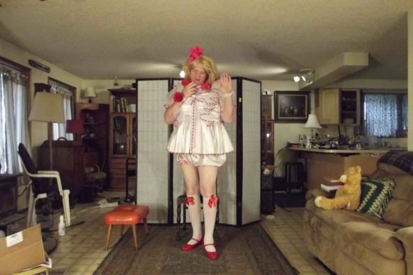 Happy Valentine's Day!, sissy,cross,dress,, Feminization,Sissy Fashion