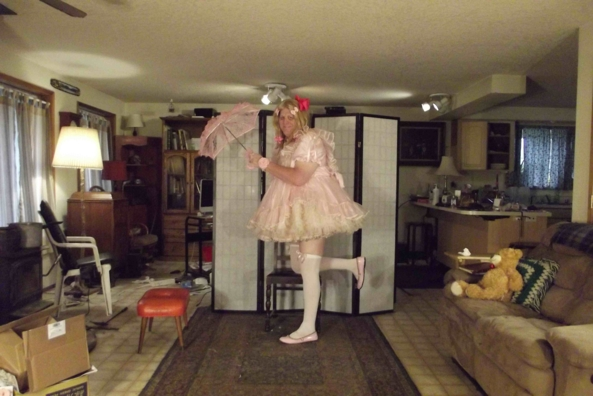 Totally Prissy in Pink - absolutely Prissy in Pink, sissy,cross,dress, , Feminization,Dolled Up,Sissy Fashion