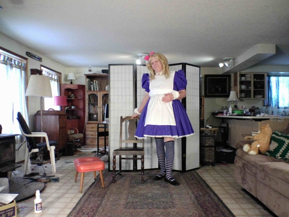 Now where did I leave my Vorpal Sword?, sissy,Alice,crossdress, Feminization,Dolled Up,Fairytale,Sissy Fashion