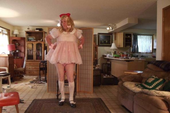 No Diapers!  I am Mama's BIG Gurl! - my 4 year old day dress, sissy,baby,cross dress,, Adult Babies,Feminization,Sissy Fashion