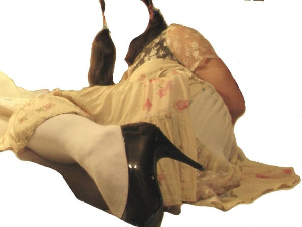 Most loved dress, minidress,pumps,stockings