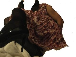 Playing, minidress,pumps,stockings,vibrator