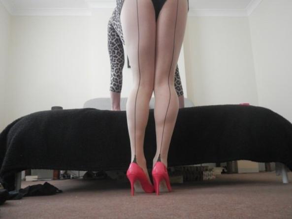 Legs again, Pussy