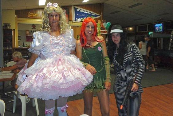 Cute Halloween - Dressing up for Halloween., sissy,princess,aurora,halloween,plant,monster, Sissy Fashion,Feminization