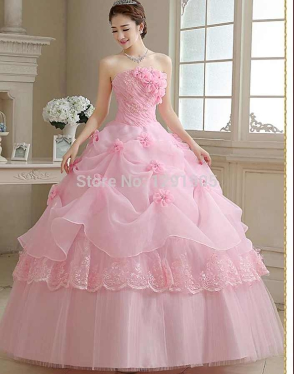 Pretty Princess, Princess,pink,gown,dress,pretty