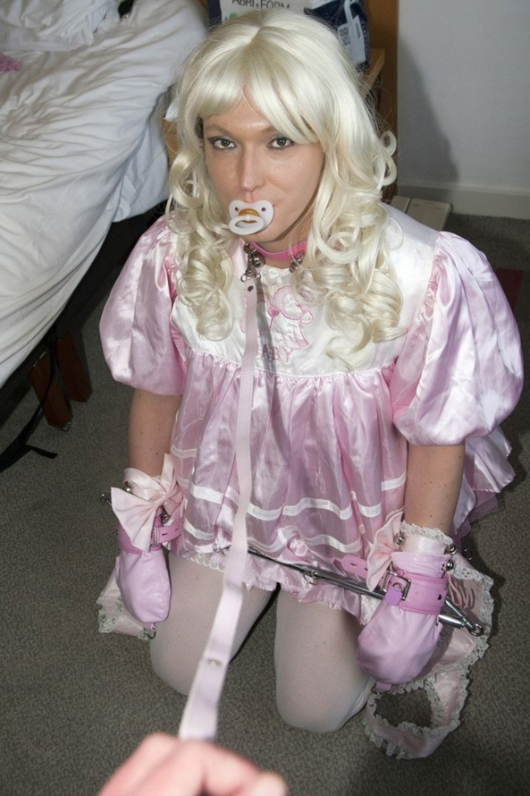 Sissy baby bondage. - Dressed up and tied down - yes please!, sissy baby,adult baby,bondage,restrained,baby clothes,humiliation, Adult Babies,Feminization,Dominating Mistress Or Master,Humiliation,Spankings,Bondage,Diaper Lovers