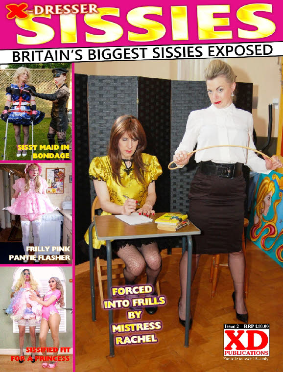 I'm in a real sissy mag! - Had my photos picked up by a real life top shelf UK sissy mag...and made the cover too! (yayy!). So happy and so proud to be a sissy.. , sissy,magazine,photos, Adult Babies,Feminization,Dolled Up,Sissy Fashion