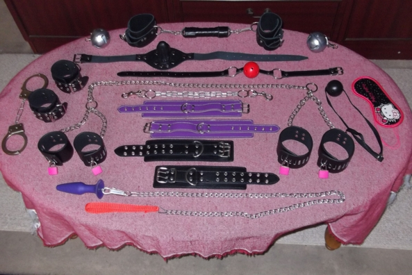 Choices,choices - A selection of goodies from my collection - now, shall we begin...., Spanking,bondage,anal toys,equipment, Sex Toys,Spankings,Bondage