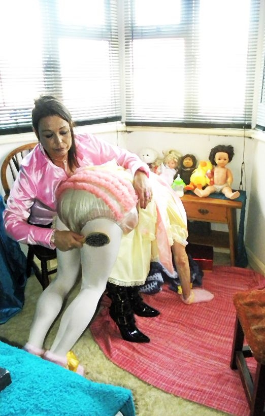 Sissybaby treatment - Sissies being treated as the little babies they are - me first please!!! :-), adult baby,sissybaby,punishment,humiliation,baby clothes,spanking, Adult Babies,Feminization,Dominating Mistress Or Master,Humiliation,Breast Feeding,Spankings,Diaper Lovers,Dolled Up
