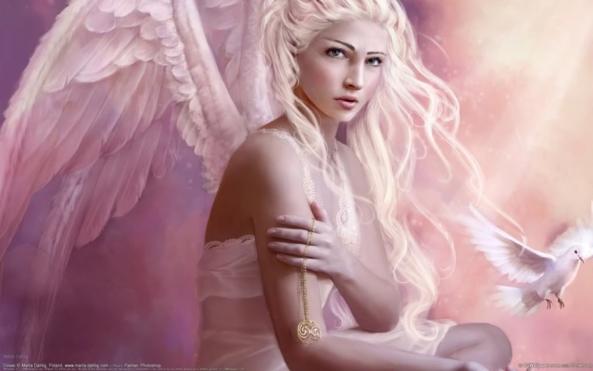 The Angel I worship, Angel,Role model,, Feminization,Hormones