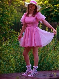 Don We Now Our Gay Apparel! - Tis' The Season To Be Sissy!, AB/DL Sissy Crossdresser, Adult Babies,Feminization,Sissy Fashion,Fairytale,Diaper Lovers,Dolled Up,Holiday