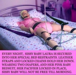 A Diaper Wearing Little Girl Sissy...FOREVER! - You're So Happy and Eternally Joyfull & Humiliated , A/B D/L Sissy Diaper Regression Bondage, Adult Babies,Feminization,Dominating Mistress Or Master,Sissy Fashion,Diaper Lovers,Bondage,Dolled Up