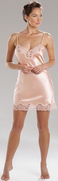 Silk slip lingerie