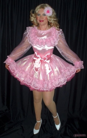 Another Day, Another Dress, Another Diaper Change - Each Day Brings MORE Feminine Joy!, AB/DL Sissy Crossdresser, Adult Babies,Feminization,Sissy Fashion,Fairytale,Diaper Lovers,Dolled Up
