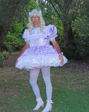 Another Beautiful Diaper & Dress! - Wonderful to Stay Dressed 24/7 FOREVER!, AB/DL Sissy Crossdresser, Adult Babies,Feminization,Sissy Fashion,Increased Sexuality,Diaper Lovers,Dolled Up