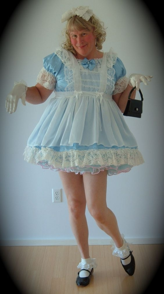Sissy Diaper Daydream - Diapered Sissies, Crossdresser Adult Baby Sissy, Adult Babies,Feminization,Sissy Fashion,Fairytale,Diaper Lovers,Dolled Up