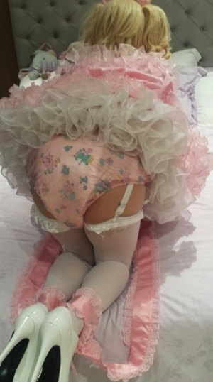 The smell hit them coming through the door - Your sissy husband needs his diaper changed, I'll do it, AB/DL Sissy Crossdresser Humiliation, Adult Babies,Feminization,Sissy Fashion,Diaper Lovers,Dolled Up