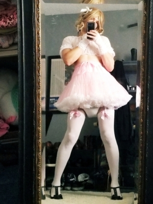 Shaved Bathed Diapered & Perfumed - Wearing Sexy Lingeie, A Frilly Dress & Heels!, A/B D/L Sissy Crossdresser Humiliation, Adult Babies,Feminization,Sissy Fashion,Diaper Lovers,Dominating Mistress Or Master,Dolled Up