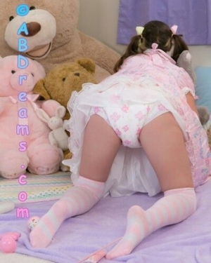 Lucky Diapered Sissies Know The Daily Joy - The Feminine Fabrics, Smells & Feelings of Being Girly, A/B D/L Sissy Crossdresser, Adult Babies,Feminization,Sissy Fashion,Diaper Lovers,Dolled Up,Bondage