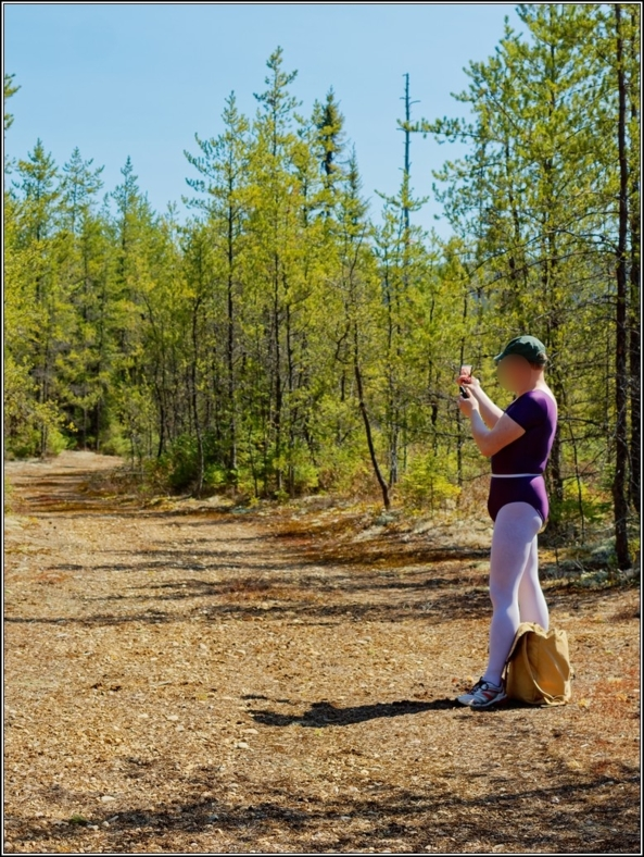 Sissy scout - Part 2, leotard,forest,wood,outdoor,crossdress, Body Suits,Sissy Fashion,Fairytale