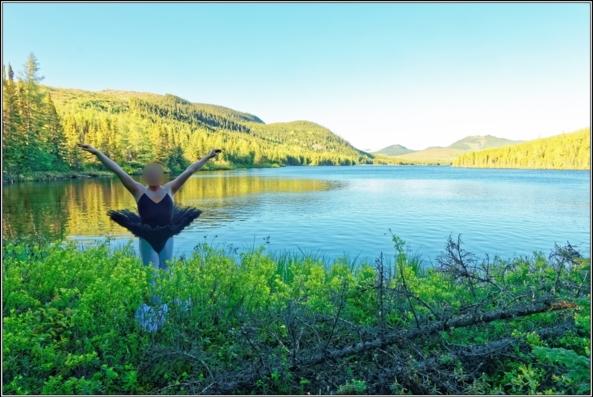 Finding the black tutu - Part 2, lake,crossdresser,outdoor,ballet,white,black,tutu,platter, Body Suits,Sissy Fashion,Fairytale