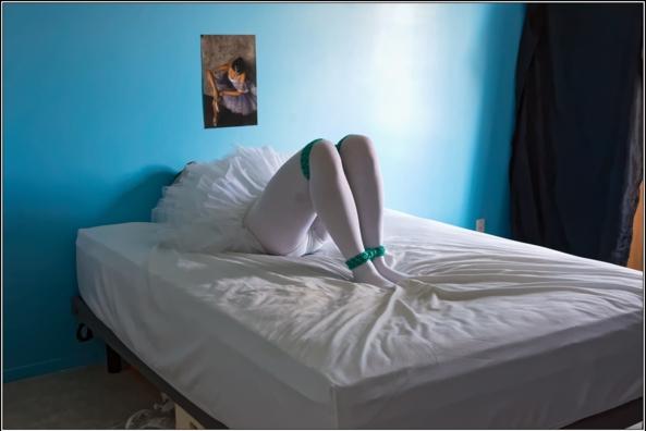 Bound ballerina - part 1 - A cute sissy ballerina tied-up, bondage,bound,tied,tutu,platter,ballerina, Body Suits,Sissy Fashion,Fairytale,Bondage