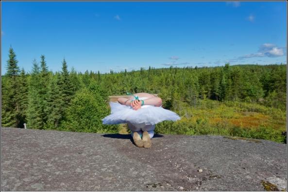Sissy Ballerina 9 - Bound on the floor - Part 2, crossdresser,outdoor,ballet,platter,tutu,ballerina,forest,bondage, Body Suits,Fairytale,Sissy Fashion,Bondage