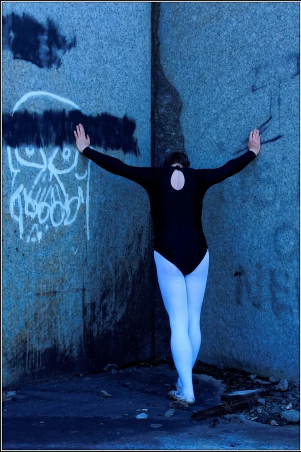 Black leotard - Part 1, black,leotard,white,tight,forest,outdoor, Sissy Fashion,Body Suits,Fairytale