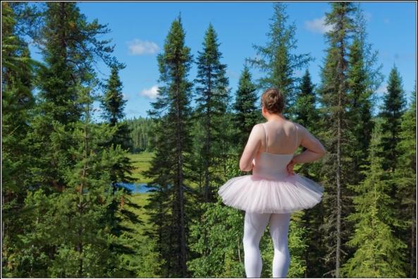 Pink tutu - part 1, ballerina,tutu,platter,ballet,outdoor,crossdresser,forest, Body Suits,Sissy Fashion,Fairytale