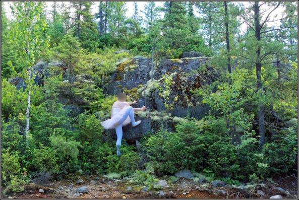 Pink tutu 3 - Part 2, ballerina,pink,tutu,platter,ballet,outdoor,crossdresser,forest, Sissy Fashion,Body Suits,Fairytale