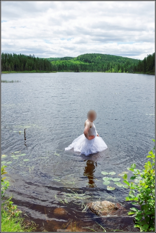 Romantic tutu in the lake, forest,ballerina,tutu,romantic,ballet,outdoor,crossdresser,lake, Body Suits,Sissy Fashion,Fairytale