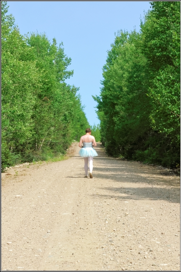 Blue tutu - part 2, blue,tutu,outdoor,forest,crossdresser,ballet,ballerina, Sissy Fashion,Body Suits,Fairytale