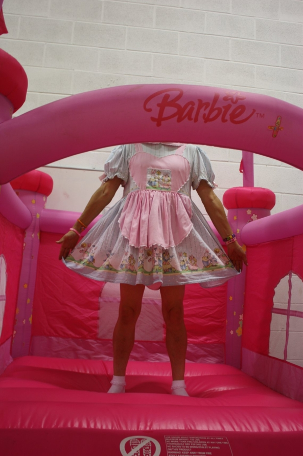Barbie Bouncy Princess Castle, PINK,Barbie,Bouncy,Princess,Castle,Curtsy,Cute,Curious,Annemarie,Creation