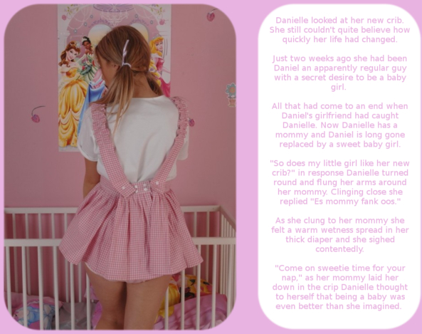 Baby Danielle part 2, Adult Babies,Feminization,Diaper Lovers