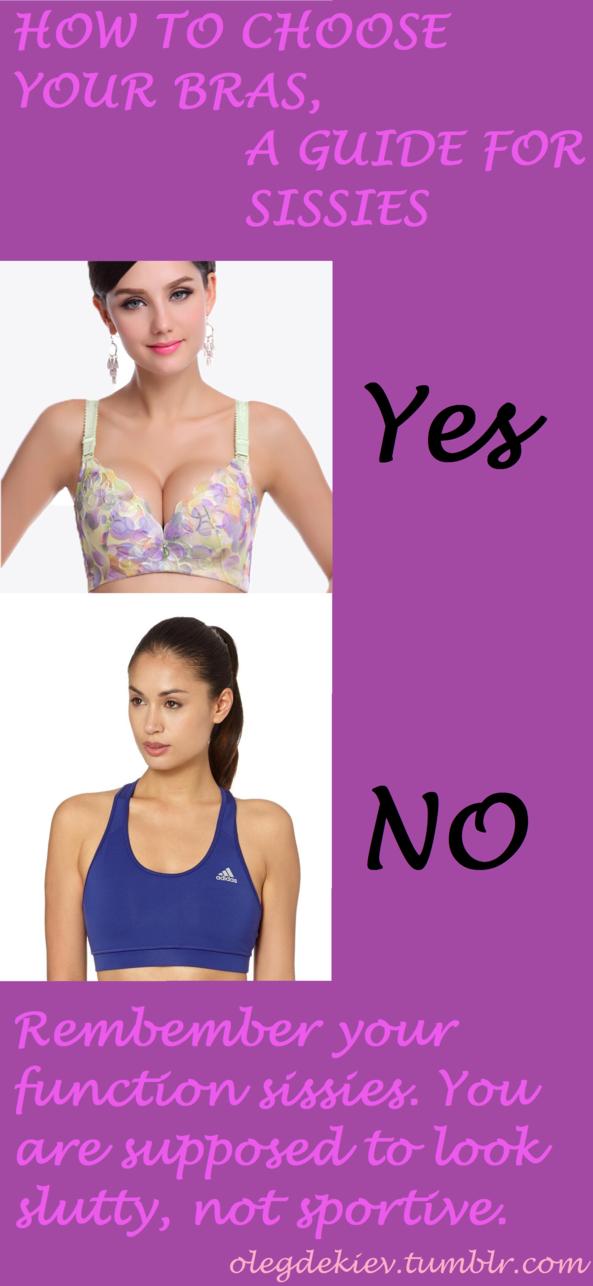 How to choose your bra, bras,sissy training,submissive sissy,slutty sissy,sports bra,lingerie, Feminization,Medium Change,Sissy Fashion