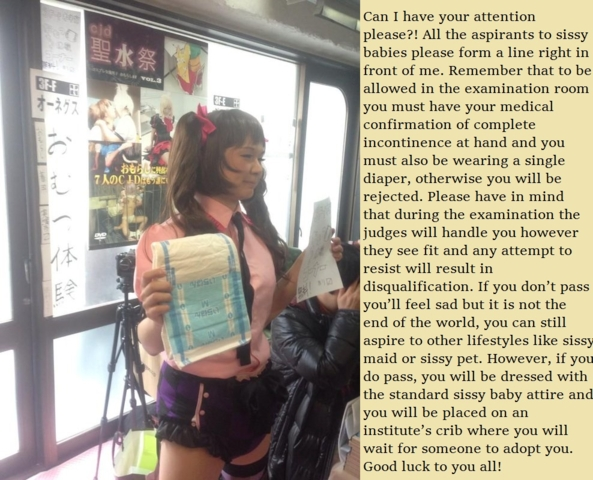 The Exam, sissy baby,diaper,incontinence,exam,adoption, Adult Babies,Sissy Fashion,Other Body Modifications,Diaper Lovers