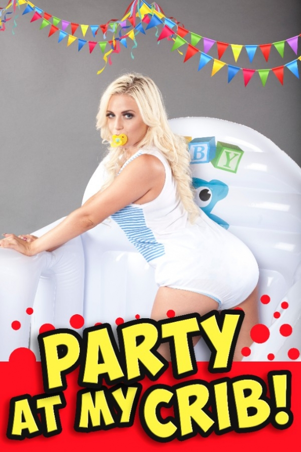Party at my crib! - an Unmasked Dollie, adult baby,cribs,nursery,sissy baby, Adult Babies,Thumb Sucking,Diaper Lovers,Wetting The Bed,Dolled Up,Humiliation,Sissy Fashion
