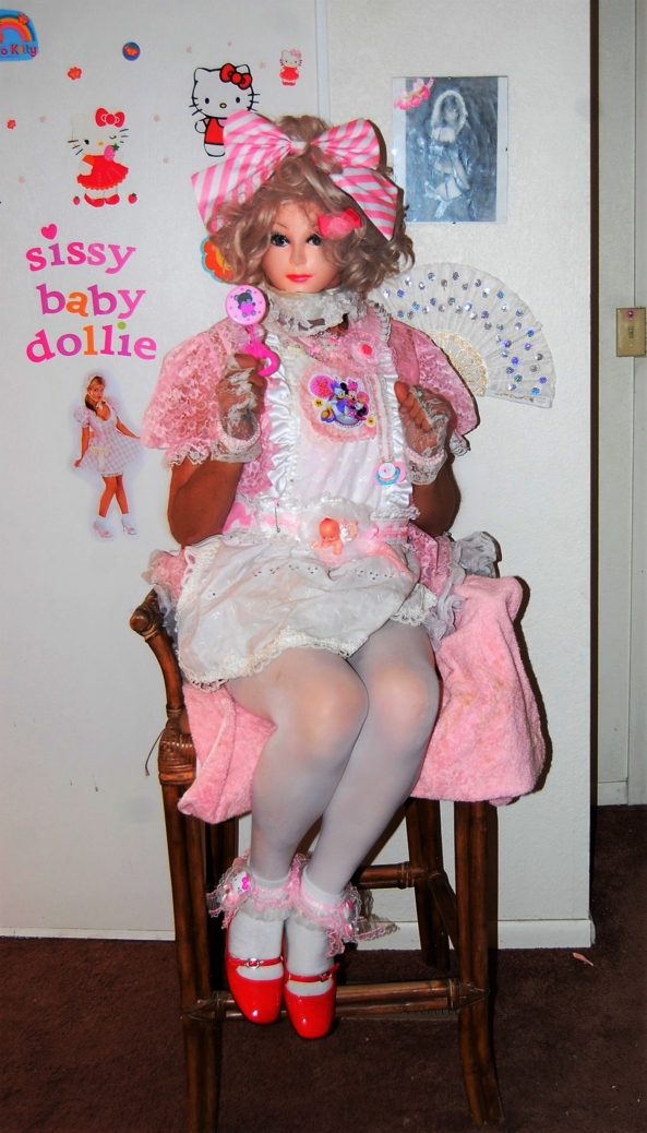 Even when she is naughty, she is nice. - Dollie being a dolly., Dollie sissy,Dollies nursery,I love pink, Adult Babies,Thumb Sucking,Wetting The Bed,Diaper Lovers,Dolled Up,Sissy Fashion