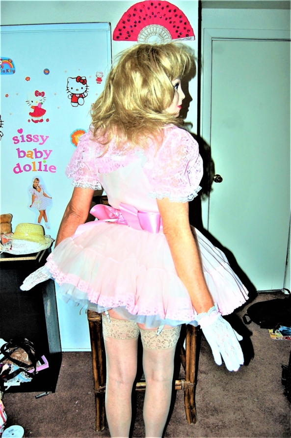 Caption Dollie - this time you get to caption the Dollie, Dollie sissy,caption me,, Adult Babies,Diaper Lovers,Dolled Up,Increased Sexuality,Pop Culture,Sissy Fashion