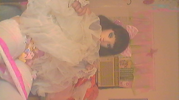 Dark Domina doll in a diaper - Dark doll teaches sissy babies to become sluts, Domina Dark Doll,Dollies nursery, Feminization,Adult Babies,Bondage