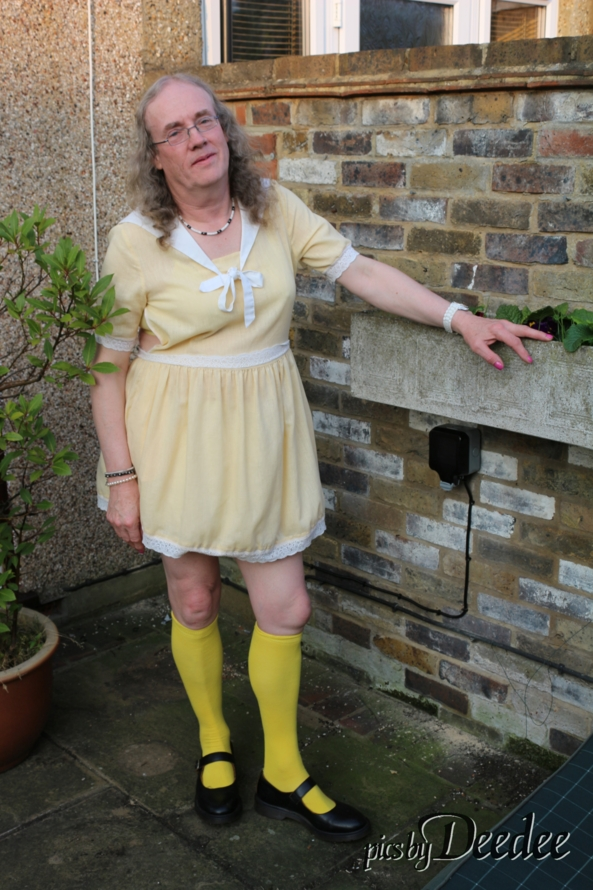 Magic Theatre, yellow dress,Sissy,Magic Theatre, Sissy Fashion