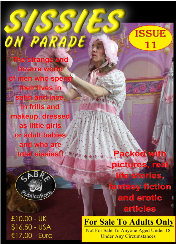 Magazine Covers, Sissies On Parade. X-Dresser Sissies,Deedee, Adult Babies,Sissy Fashion,Pop Culture