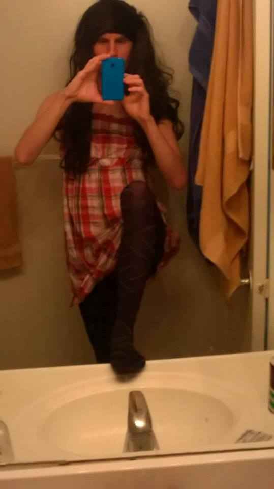 My fave tights - Just me in my cute favorite tights, Tights,Dress, Bisexual Orientation,Sissy Fashion