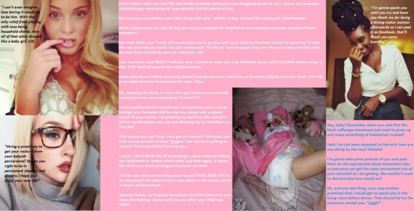 Sissies humiliated - Diapered sissies get what sissies deserve!, sissy,diaper,humiliation,femdom,role reversal,maid,sissy maid,prissy,nappy, Adult Babies,Feminization,Dominating Mistress Or Master,Humiliation,Sissy Fashion,Diaper Lovers
