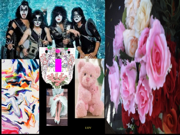 ROCKING KISSING CHAIRS - A TRIBUTE WITH LOVE, ROCK,KISS,DG POP ARTS, Feminization