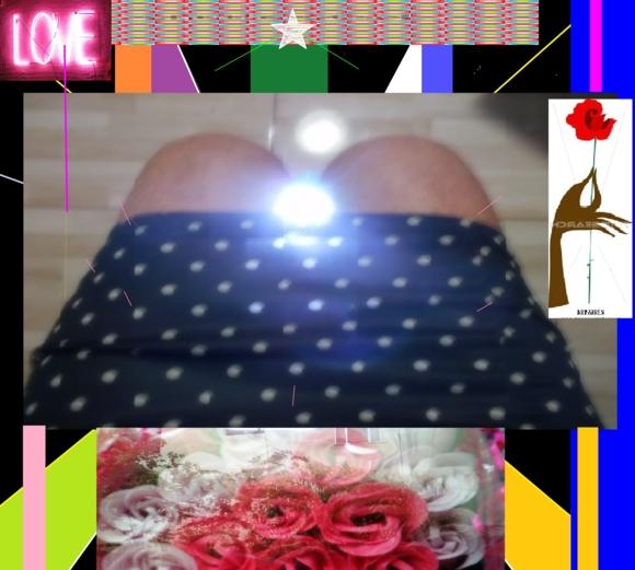 EVANESCENCIAS? ROSES AND STARS  - PHOTO ESSAY ~PAINTED~, DRESS UP PHOTO ESSAYS,DG ART, Feminization